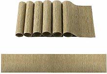 OSVINO Stylish PVC Rectangular Multi-color Bamboo