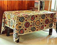 OSYARD Tablecloths Rectangular Extra Large Vintage