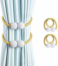 OTHWAY Curtain Tiebacks, 2 Pieces Magnetic Curtain