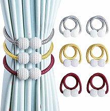 OTHWAY Magnetic Curtain Tiebacks, Convenient Drape