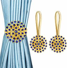 OTHWAY Magnetic Curtain Tiebacks, Sparkling