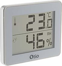 Otio - 936059 Indoor Thermometer/Hygrometer White