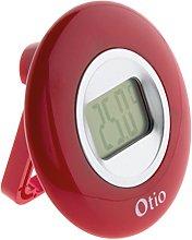 OTIO 936225 Indoor Thermometer, Red