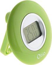 OTIO 936229 Indoor Thermometer, Green
