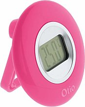 OTIO 936230 Indoor Thermometer, Pink