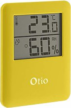 OTIO 936233 Thermometer/Hygrometer, Yellow