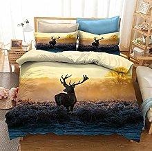 OTNYHBJ Duvet Cover Pillowcases Beige yellow