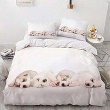 OTNYHBJ Duvet Cover Pillowcases White beige black