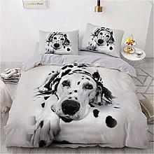 OTNYHBJ Duvet Cover Pillowcases White black animal