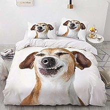 OTNYHBJ Duvet Cover Pillowcases White black yellow