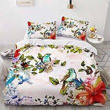 OTNYHBJ Duvet Cover Pillowcases White green red