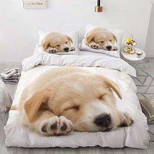 OTNYHBJ Duvet Cover Pillowcases White yellow black