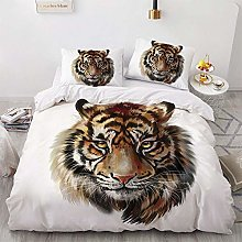 OTNYHBJ Duvet Cover Pillowcases White yellow brown