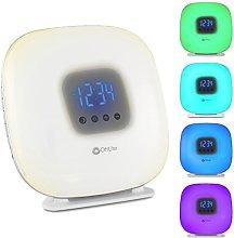 OttLite LED Wake Up Your Way Light & Alarm Clock