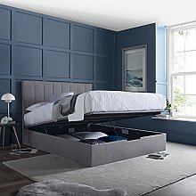 Ottoman Storage Bed, Lincoln Connect Grey or