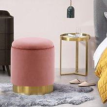 Ottoman Storage Stool Seat Footstool Dressing