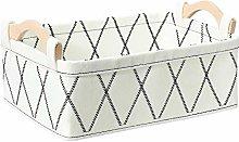 Oubra Dog Toy Bin Small Storage Baskets for Shelf