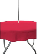 Ouinane Round Tablecloth Sol 72 Outdoor Colour: Red