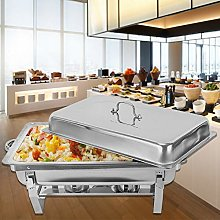 OUKANING Food Warmer Chafing Dish Warming