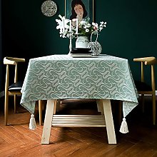 Oukeep European Style Printed Tablecloth Pure