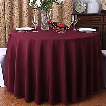 Oukeep Modern Solid Color Restaurant Tablecloth