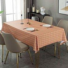 Oukeep Nordic Lattice Pvc Table Mat Coffee Table