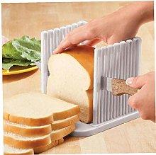 Oulensy Kitchen Plastic Bread Slicer Loaf Cutting