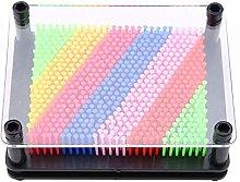 Oumefar 3D Plastic Sculpture Pin Art Board Pin