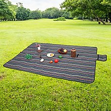 Oumefar Beach Mat PE Cotton Tent Pad for Camping