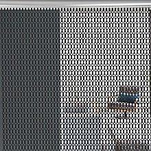Oumefar Chain Curtain, easy to clean Aluminium