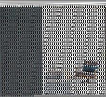 Oumefar easy to clean Aluminum Curtain, Chain
