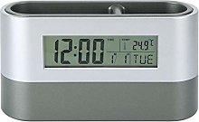 Oumefar Innovative Pen Holder Lcd Digital Clock