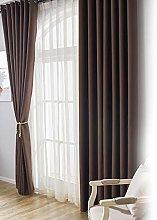 Oumefar Polyester Bedroom Curtain Window Curtain