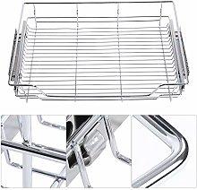 Oumefar Reusable Kitchen Pull-out Basket Stainless