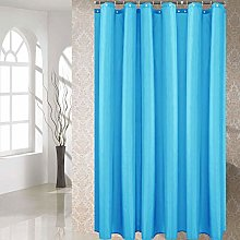 Oumefar Shower Curtain Polyester Fabric No Static