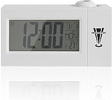 Oumij1 Projection LCD Clock Display Sound Control