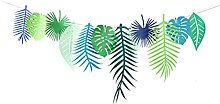 OUNONA 3M Tropical Party Banner Pineapple Garland