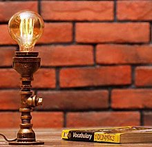 OUPPENG Dimmer Desk Lamp Retro Industrial Style