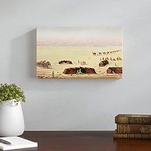 Our Desert Camp Art Print on Canvas East Urban Home
