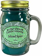 our own candle Company Island Spice Large Mason