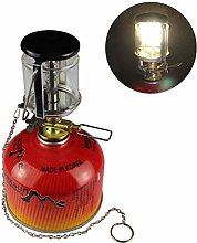 Ourine Outdoor Camping Small Gas Lamp Mini