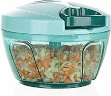 Ourokhome Portable Pull Onion Chopper- Manual