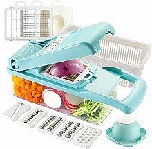 Ourokhome Vegetable Chopper Slicer Dicer - 12-in-1