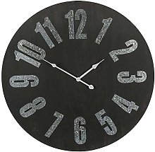 Out of the blue 79/3268 Wall Clock, Black, Approx.