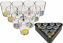 Out of the blue Shooter Shot Glass, Billiards,