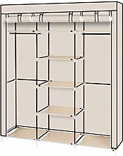 OUTAD Canvas Wardrobe Clothes Storage Organiser