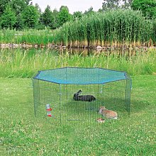 Outdoor Animal Pen with Protective Net 60x57 cm