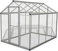 Outdoor Aviary Aluminium 178x242x192 cm VD06963 -