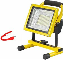 Outdoor camping equipment provides strong light
