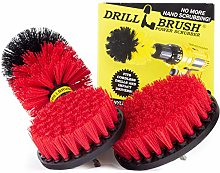 Outdoor - Cleaning Supplies - Drill Brush - Stiff